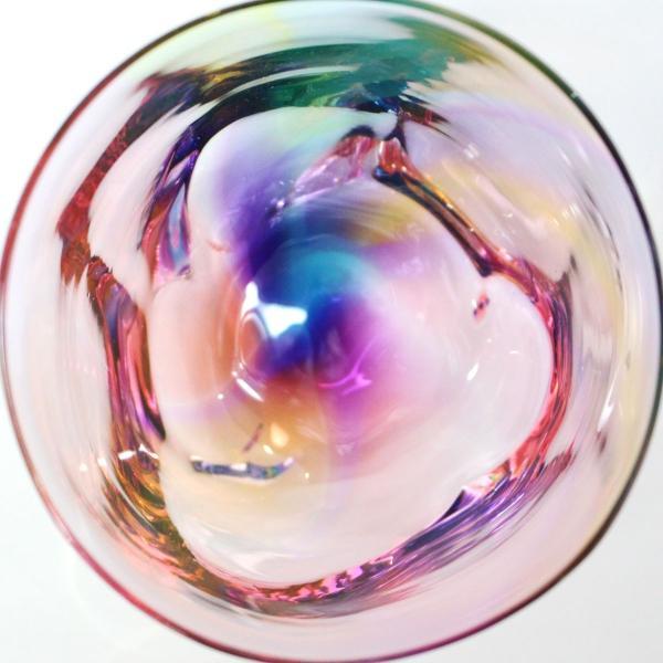 glass calico グラスキャリコ ハンドメイド ガラス酒器 ミナモプリズム ロックグラス ウイスキー 焼酎 カクテル 梅酒 グラス bisyukiya 03