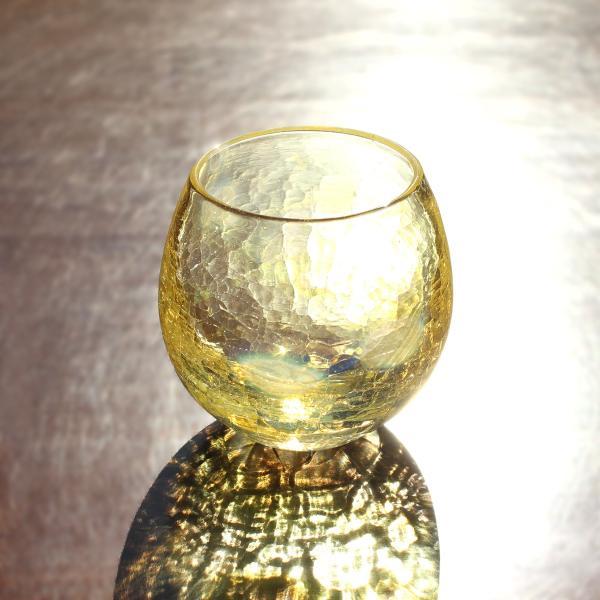 glass calico グラスキャリコ ハンドメイド ガラス酒器 月光 (げっこう) ロックグラス ギフト おしゃれ|bisyukiya
