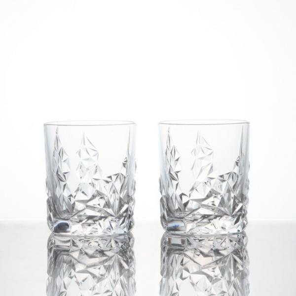 ナハトマン スカルプチャー タンブラー ペアセット (2個入) ウイスキー 焼酎 ロックグラス Nachtmann 正規品 ギフト おしゃれ|bisyukiya