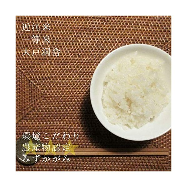 【新米予約】2021年度 米 お米 30kg みずかがみ 滋賀県産 白米 玄米 大戸洞舎 送料無料 滋賀県ご当地モール
