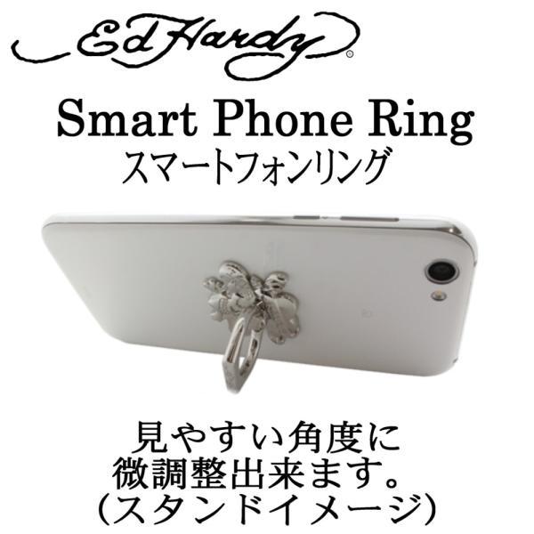 スマホリング メンズ レディース スマホ スタンド ゴールド edhardy エドハーディー バンカー リング スマホ タブレット iPhone GALAXY 落下防止 取外し|bj-direct|15