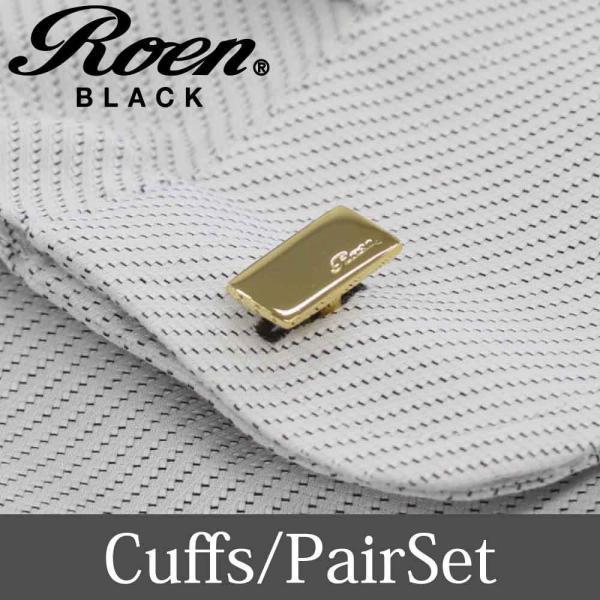 Roen Black ロエン アクセサリー メンズ カフス シャツ スーツ シルバー ゴールド ギフト プレゼント 就職祝い|bj-direct|03