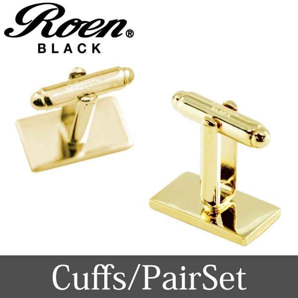 Roen Black ロエン アクセサリー メンズ カフス シャツ スーツ シルバー ゴールド ギフト プレゼント 就職祝い|bj-direct|07