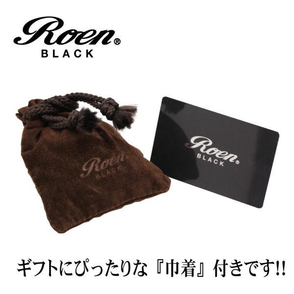 Roen Black ロエン アクセサリー メンズ ネックレス ペンダント 金属アレルギー 対応 スカル ステンレス ブラック|bj-direct|08