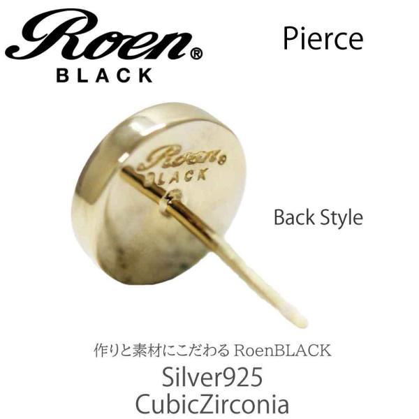 Roen Black ロエン アクセサリー メンズ ピアス シルバー ゴールド キュービック ジルコニア bj-direct 03