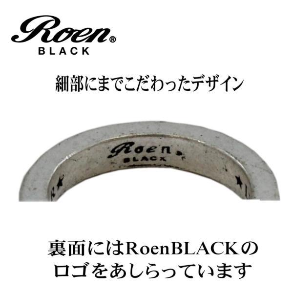 Roen Black ロエン アクセサリー メンズ リング 指輪 星 スター ブラック ペア 15号 17号 19号 21号|bj-direct|04