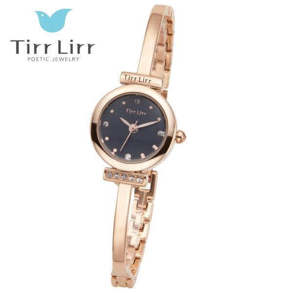 韓国 ファッション レディース 腕時計 人気 メタル ベルト ウォッチ TirrLirr ティルリル シルバー ピンク ゴールド 黒 キュービック ジルコニア ギフト|bj-direct|04