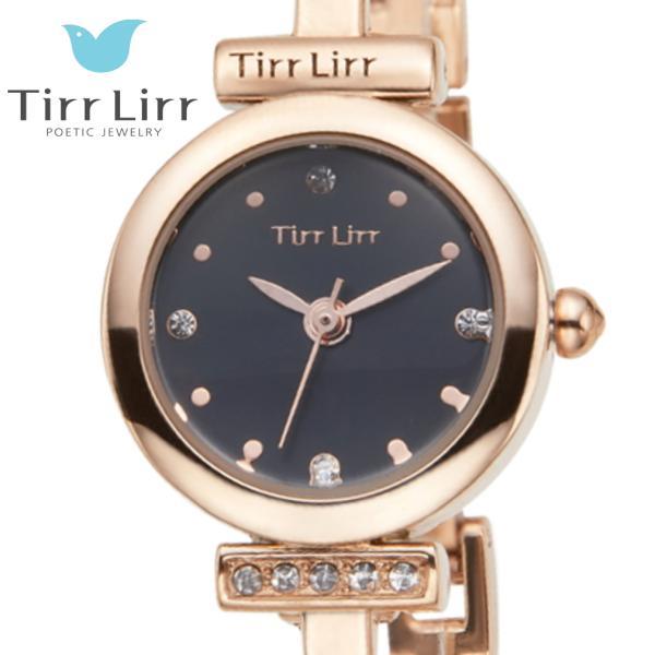 韓国 ファッション レディース 腕時計 人気 メタル ベルト ウォッチ TirrLirr ティルリル シルバー ピンク ゴールド 黒 キュービック ジルコニア ギフト|bj-direct|06