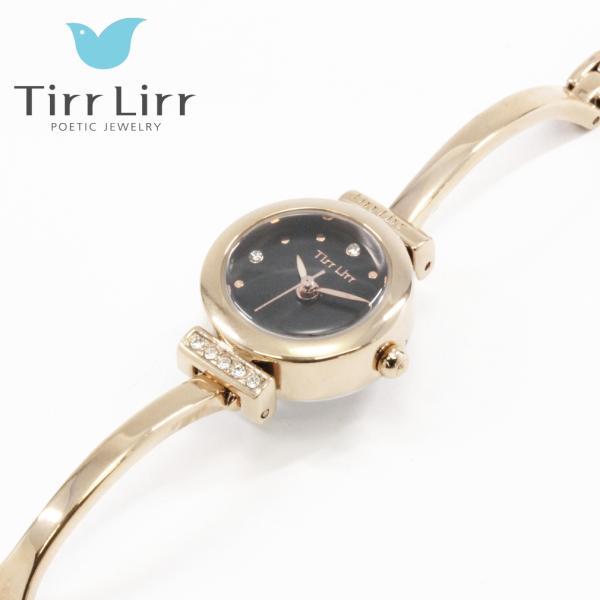 韓国 ファッション レディース 腕時計 人気 メタル ベルト ウォッチ TirrLirr ティルリル シルバー ピンク ゴールド 黒 キュービック ジルコニア ギフト|bj-direct|08