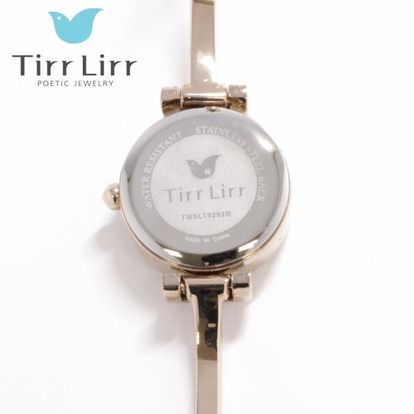 韓国 ファッション レディース 腕時計 人気 メタル ベルト ウォッチ TirrLirr ティルリル シルバー ピンク ゴールド 黒 キュービック ジルコニア ギフト|bj-direct|10