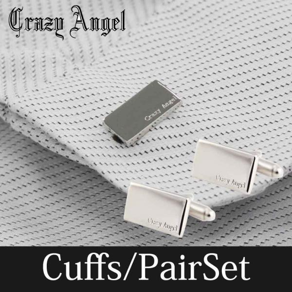 カフス アクセサリー メンズ ストーン Crazy Angel 就職祝い 誕生日 結婚式 ギフト プレゼント CAT-102 bj-direct