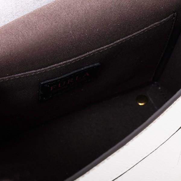 ec1d188d2550 ... フルラ FURLA LIKE S CROSSBODY ショルダーバッグ ホワイト×ベージュ×シャンパンゴールド [レディース] ...