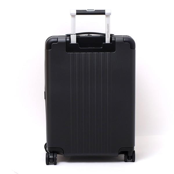 モンブラン MONTBLANC フロントポケット付 キャビン トローリー 4輪 キャリー スーツケース ブラック 37L(3〜4泊向け) [メンズ] 118728|bjkyoto|04