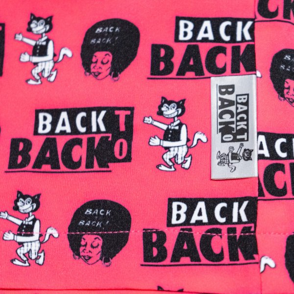 Back to Back バックトゥバック Board Shorts Wolf&Afro ボードショーツ ウルフ&アフロ|bk2bk|08