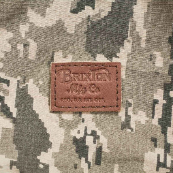 ブリクストン スチュアート・ヒップパック Brixton STEWART HIP PACK #05250 ウエストバッグ ボディバッグ タイガーカモ [正規品]|bk2bk|02