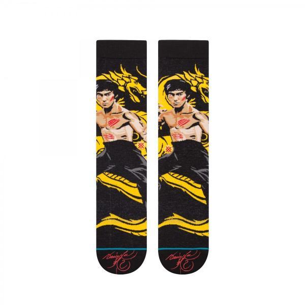 STANCE Socks Dragon スタンスソックス 燃えよドラゴン ライフスタイルコレクション クラシッククルー ブルース・リー ジークンドー カンフー [正規品]|bk2bk|02
