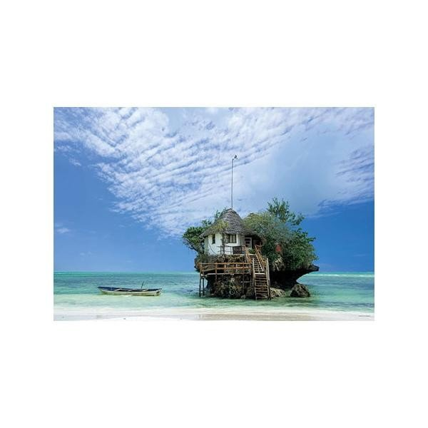 やのまん ジグソーパズル 風景 南の島のレストラン(タンザニア)10-1324