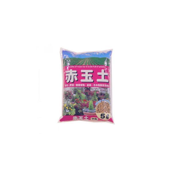 あかぎ園芸 赤玉土 中粒 5L 10袋