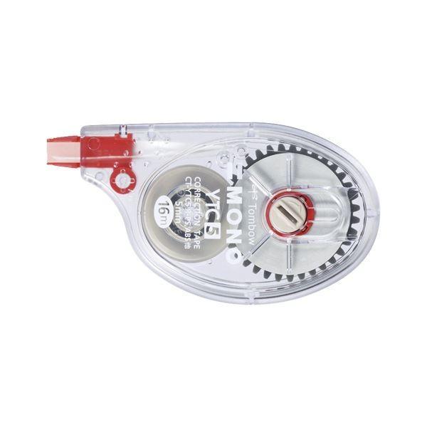 (まとめ) トンボ鉛筆 修正テープモノYTC CT-YTC5 1個入 〔×10セット〕