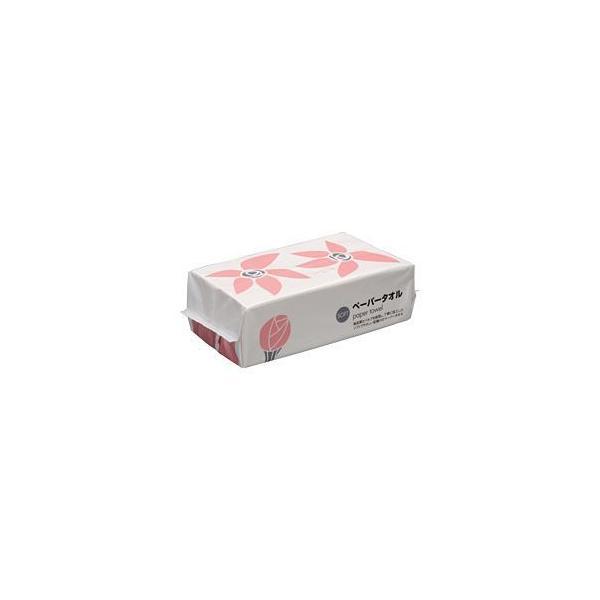 (まとめ) (ペーパータオル)ペーパータオル ソフトタイプ 1パック(400枚・200組) 〔×20セット〕
