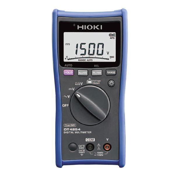 日置電機 デジタルマルチメータ(電圧測定専用タイプ) DT4254〔代引不可〕
