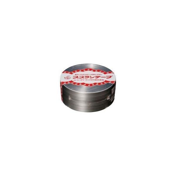 (業務用100セット) CIサンプラス スズランテープ/荷造りひも 〔銀/470m〕 24203102