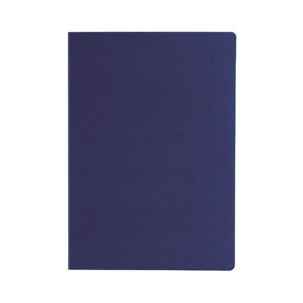 (まとめ)セキセイ クリップファイル(ダブル)A4 FB-2036-15ネイビーブルー 1枚 〔×10セット〕