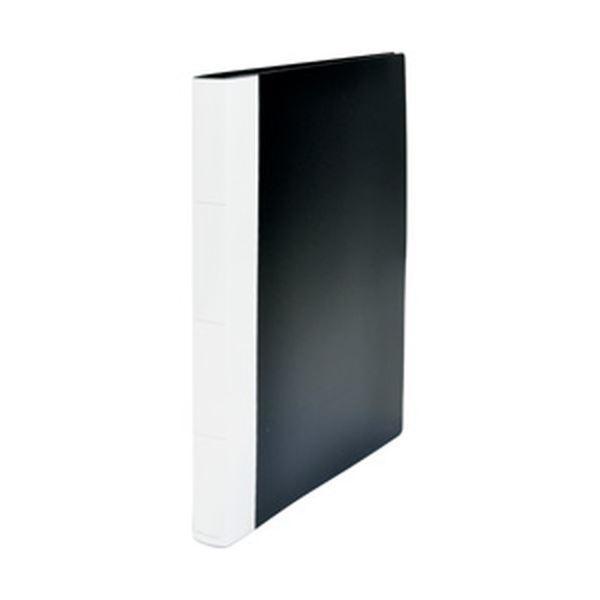 (まとめ)オフィスデポオリジナル クリアファイル A4タテ 40ポケット 1冊〔×10セット〕