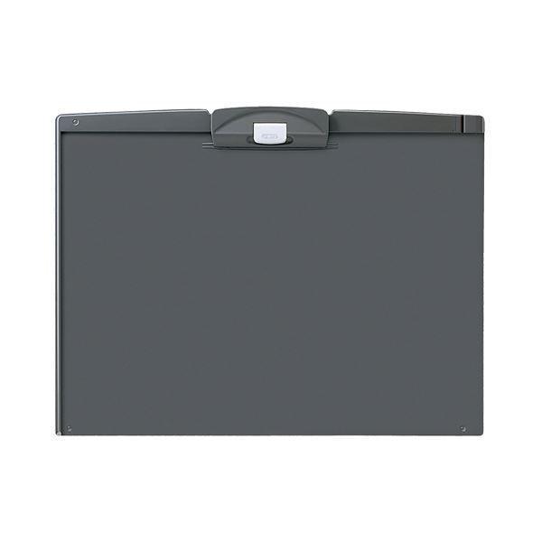 (まとめ) コクヨ クリップボードH A3ヨコ ダークグレー ヨハ-H93NDM 1枚 〔×10セット〕
