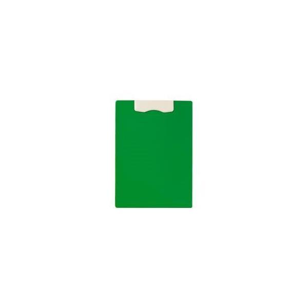 (まとめ) ライオン事務器マグネット用箋挟(レオグリップ) A4タテ グリーン No.220MG 1冊 〔×10セット〕