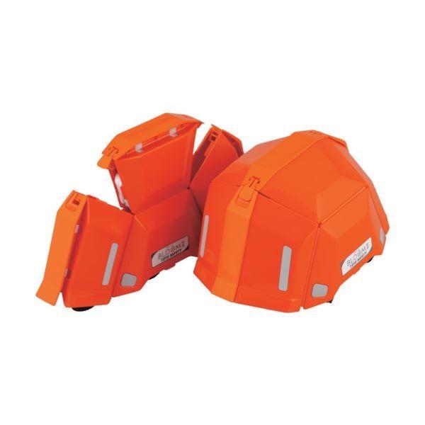 トーヨーセフティー 防災用折りたたみヘルメット BLOOM2 オレンジ NO.101-OR 1個