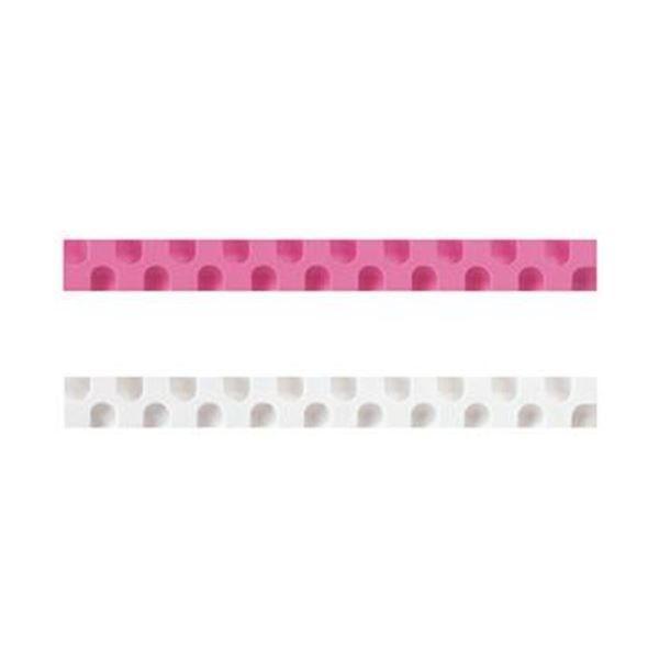 (まとめ)コクヨ 消しゴム カドケシスティックつめ替え用消しゴム(ピンク・ホワイト)ケシ-U600-3 1セット(20本:2本×10パック)〔×10セット〕