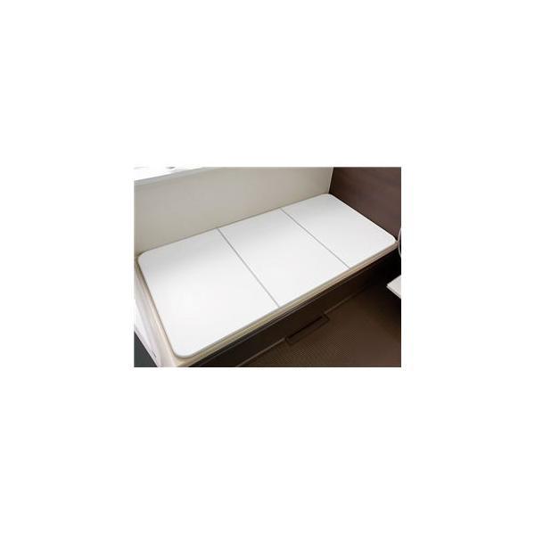 〔5個セット〕 軽量 風呂ふた/お風呂用品 〔グレー〕 80×140cm用 3枚組 『東プレ 冷めにくい風呂ふた ECOウォームneo W14』