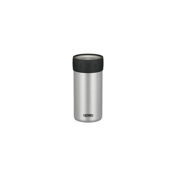 〔12個セット〕 〔THERMOS サーモス〕 保冷 缶ホルダー 〔500ml缶用 シルバー〕 真空断熱ステンレス魔法びん構造