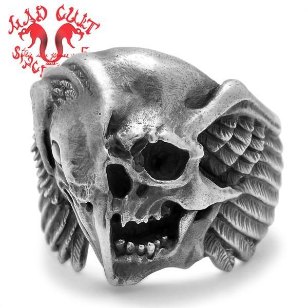 MAD CULT / マッドカルト The End-half face-R / ジエンド-ハーフフェイス-リング R-50 blackbarts