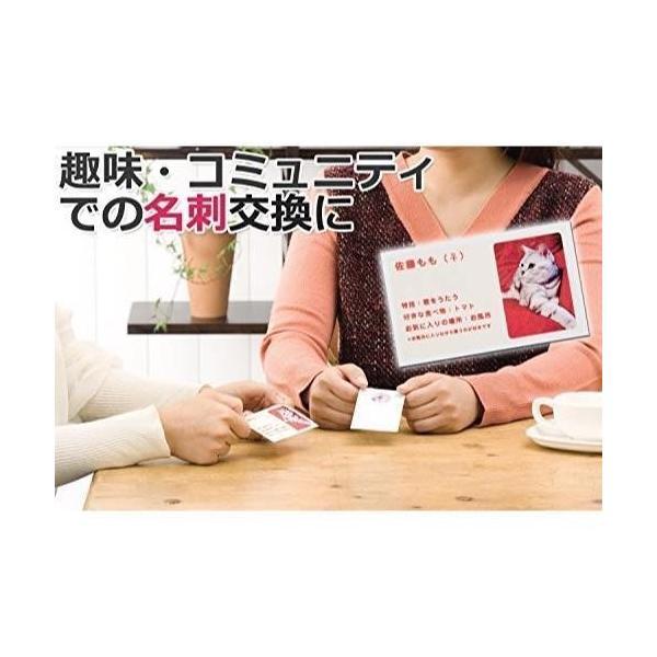 エーワン マルチカード 名刺用紙 両面 クリアエッジ 厚口 フチまで印刷 500枚分 51605|blackmacerstore|05