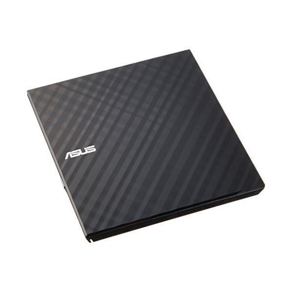 ASUS外付けDVDドライブ軽量薄型/M-DISC/バスパワー/Win&Mac/USB2.0(USB3.0搭載PCでも利
