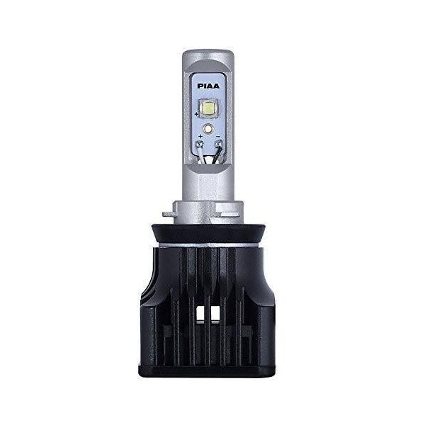 PIAA ( ピア ) LEDヘッドライトバルブ 3700lm (6000K) H8/H9/H11/H16 ホワイト 12V25W 2個入り LEH102|blackmacerstore|02