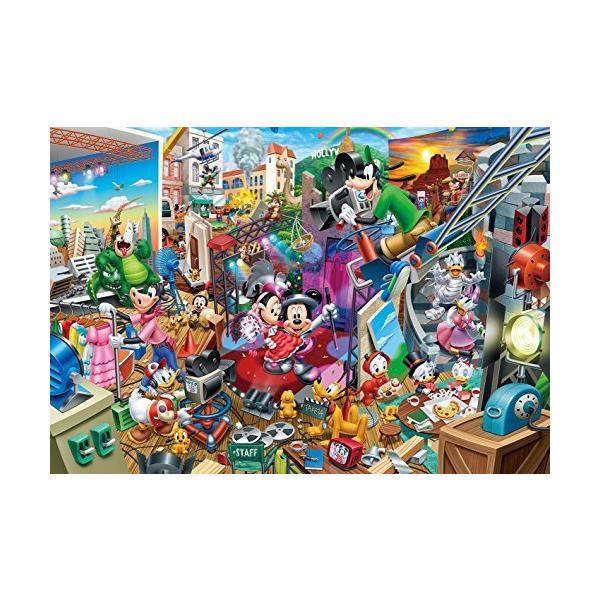 2000ピース ジグソーパズル ディズニー ミッキーのムービースタジオ ぎゅっとシリーズ(51x73.5cm)