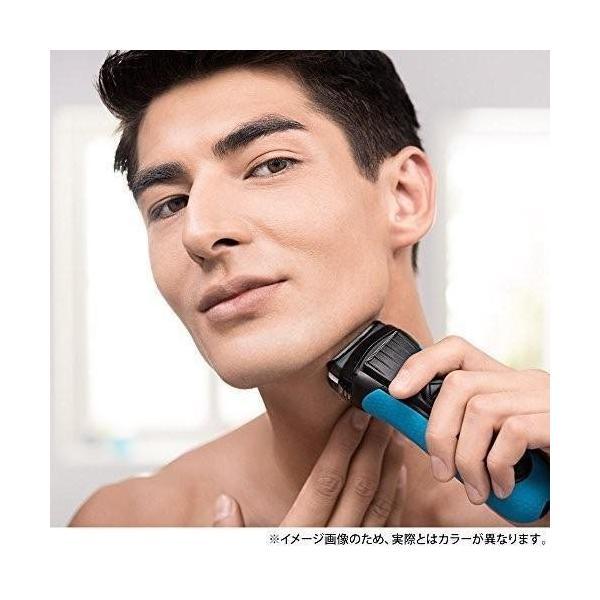 ブラウン シリーズ3 メンズ電気シェーバー 3枚刃 3080s-B ブルー お風呂剃り可 blackmacerstore 06