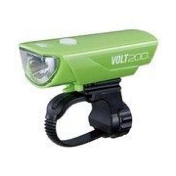キャットアイ(CAT EYE) LEDヘッドライト VOLT200 HL-EL151RC USB充電式 グリーン blackmacerstore