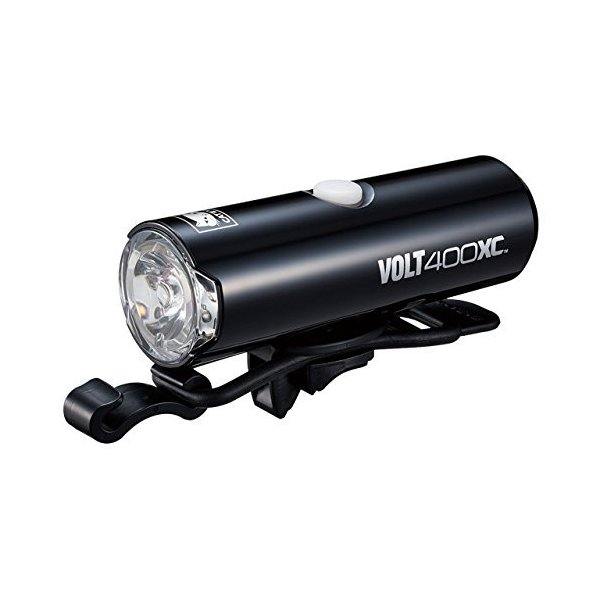 キャットアイ(CAT EYE) LEDヘッドライト VOLT400XC HL-EL070RC USB充電式 ブラック|blackmacerstore