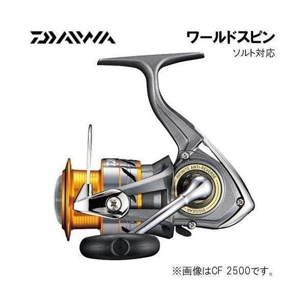 ダイワ(Daiwa) スピニングリール 17 ワールドスピン CF2500