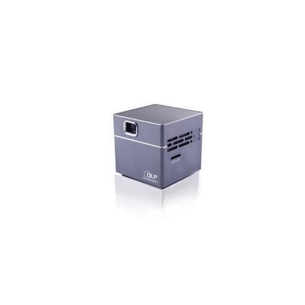 スピーカー内蔵小型プロジェクターPico Cube|blackmacerstore