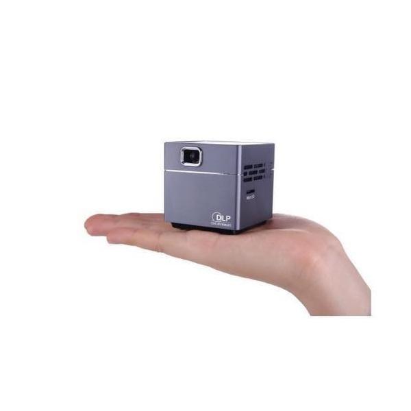 スピーカー内蔵小型プロジェクターPico Cube|blackmacerstore|02