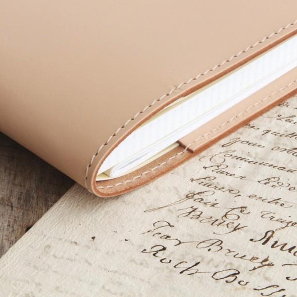 「A5サイズ」本革手帳・ノートカバー/国産フルタンニンドレザー|blanc-couture|06