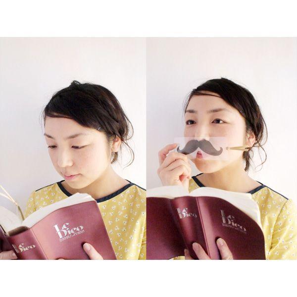 変装しおり Face & Bookmark   SUGAI WORLD スガイワールド|blancoron|05