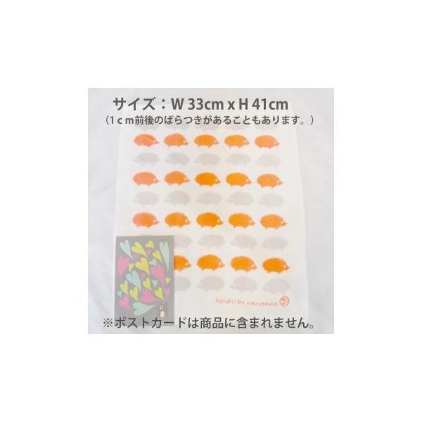 メール便 不可 波 wave  ガーゼタオル gauze towel  Mango Art Company マンゴーアートカンパニーx PataPri デザイン|blancoron|04
