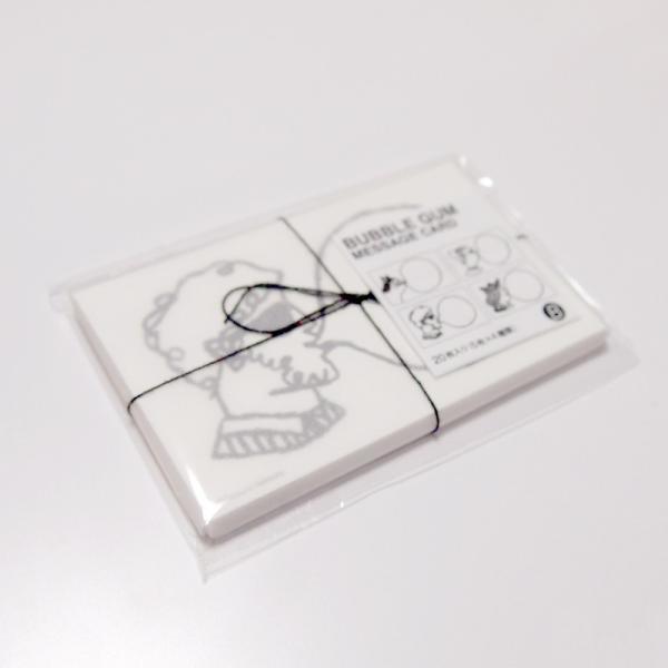バブルガムメッセージカード bubble gum message cards  Mango Art Company マンゴーアートカンパニーx たつみなつこデザイン|blancoron|04