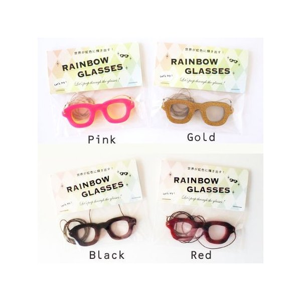 虹色めがね Rainbow glasses [ SUGAI WORLD スガイワールド]|blancoron|02